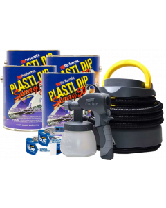 Plasti Dip® Spray Large Car/Extra Coverage Kit (4 Gallons)